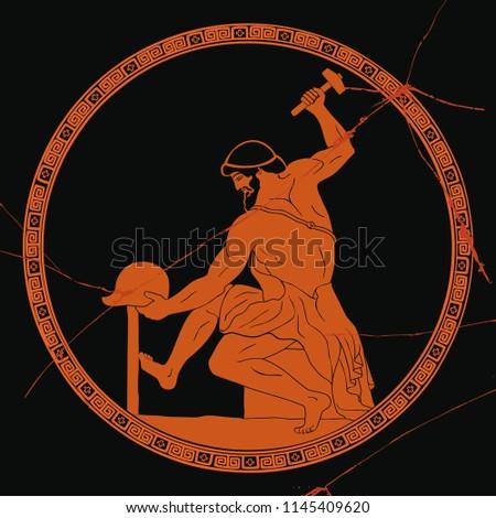 Ancient Greek artisan smith