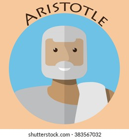 Ancient greek scientist, philosopher and thinker - Aristotle