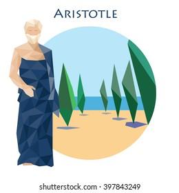 Ancient greek scientist, philosopher and thinker - Aristotle