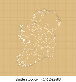 Ancient Map Of Ireland.Old Map Of Ireland Images Stock Photos Vectors Shutterstock