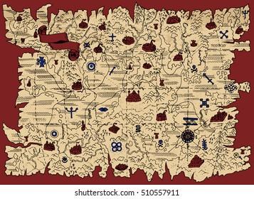 Treasure Hunt Map Images, Stock Photos & Vectors   Shutterstock on treasure map bulletin board, treasure map cake, treasure map outline, treasure map riddles, treasure hunter map, build a treasure map, treasure map ideas, treasure world map, treasure map coloring page, treasure map template, make treasure map, santa treasure map, blank treasure map, treasure maps to print, treasure map x, treasure map symbols, buried treasure map, treasure map drawing, treasure hunting map, treasure map invitations,