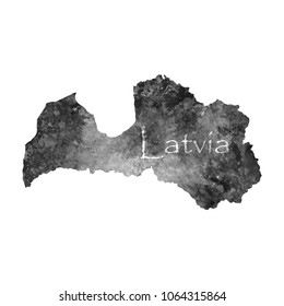 Latvia map vector images stock photos vectors shutterstock ancient map of latvia old blank parchment treasure map with ancient letters on white background publicscrutiny Gallery
