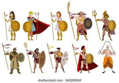 ancient past history fighters warriors