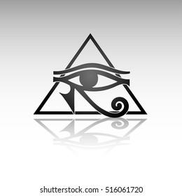 Imagenes Fotos De Stock Y Vectores Sobre Pharaoh Eye Shutterstock