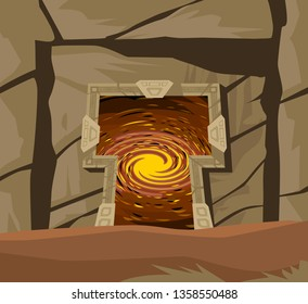 ancient temple star space gate