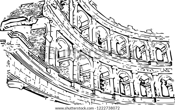 Ancient theater (vector)