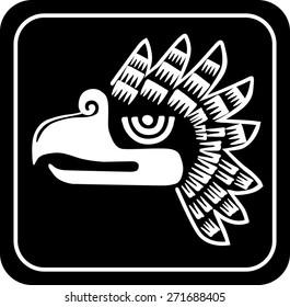 Ancient tribal symbols. Vector  EPS 8