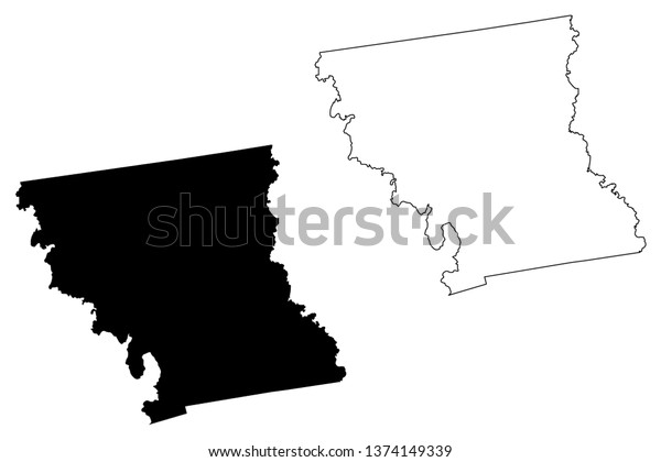 Anderson County Counties Texas United States | Royalty-Free ...