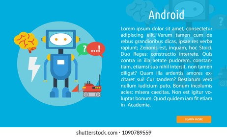 Android Conceptual Banner