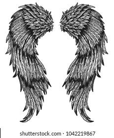 angel baroque wings