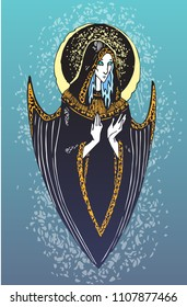 angel of a blind arrow Blue