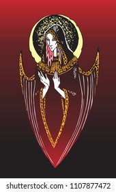 angel of a blind arrow RED