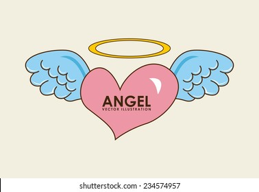 angel design , vector illustration