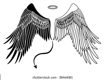 47010e36a79bf Devil Wings Images, Stock Photos & Vectors | Shutterstock