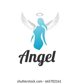 angel logo images stock photos vectors shutterstock rh shutterstock com angel logo design online angel logo psd