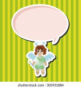 angel theme elements vector,eps
