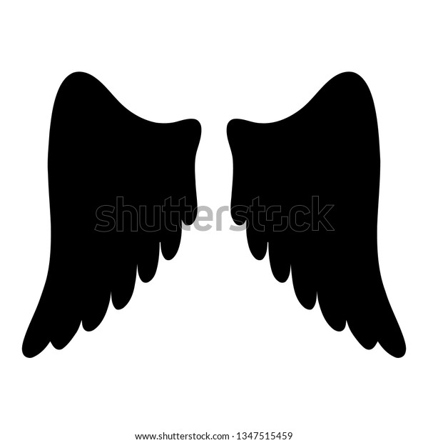 Angel Wings Clipart Stock Vector Royalty Free 1347515459