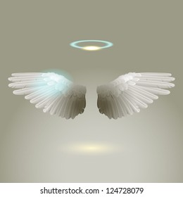 Angel wings, eps10 vector