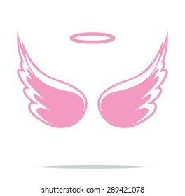 Angel wings vector illustration