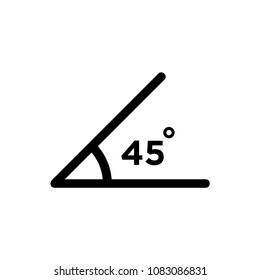 angle icon corner