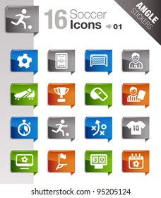 Angle Stickers - Soccer Icons