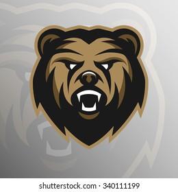 Angry Bear, logo, symbol.