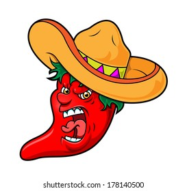 Angry Chili Pepper