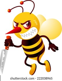 killer bee images stock photos vectors shutterstock rh shutterstock com Killer Bee Cartoon Killer Bee Stings
