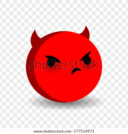 Angry Feelings Expression Message Sms Cute Stock Vector Royalty