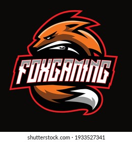 Angry fox esport gaming logo
