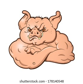Angry Hog