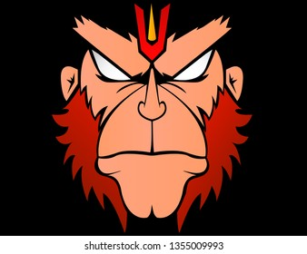 Hanuman Angry Images Stock Photos Vectors Shutterstock