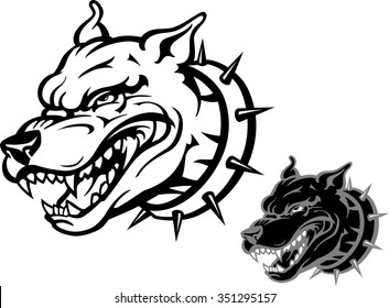 Angry Black Dog Images Stock Photos Vectors Shutterstock