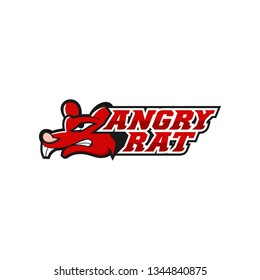 Angry Rat Logo Design