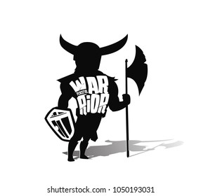 Angry warrior with armor and hoplite shield, Hand Drawn Sketch Vector illustration.