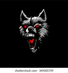 Angry Wolf Images Stock Photos Vectors Shutterstock
