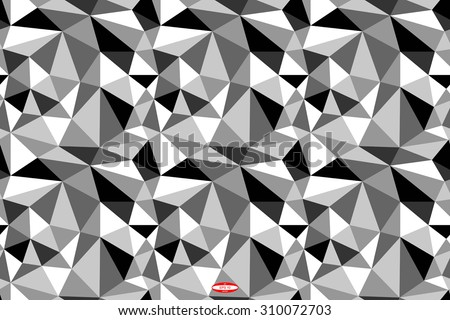Angular Abstract Black White Pattern Grey Stock Vector Royalty Free New Angular Pattern