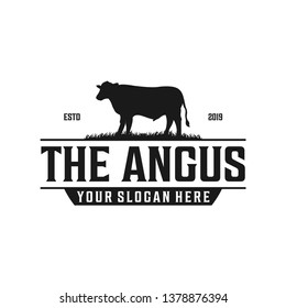 The angus vintage logo