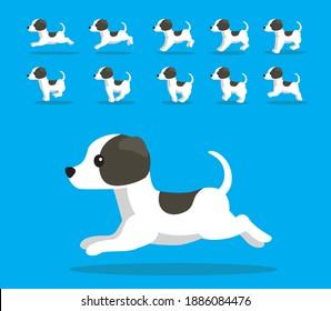 Animal Animation Sequence Dog Whippet Cartoon Vector