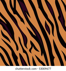Animal background pattern - tiger skin texture. Background texture of tiger skin. Use this seamless texture for your unique design!