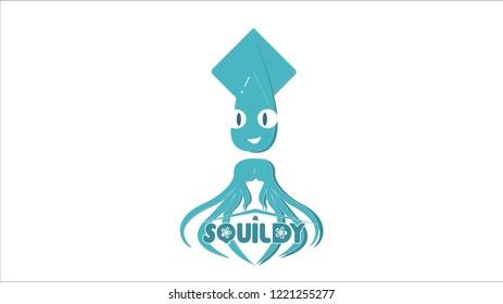 animal caracter squidy