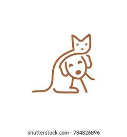 Animal Care Logo Design Vector