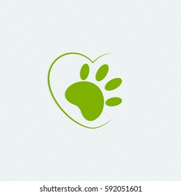 Animal cruelty free logo. Not tested on animals symbol.
