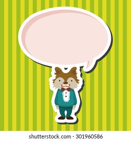 animal dog cartoon theme elements