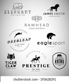 Animal Emblems Collection for Your Business