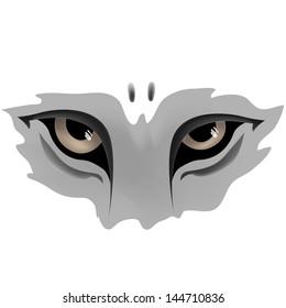 Animal Eye.Vector Illustration