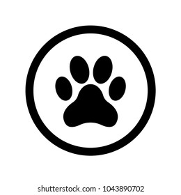 Dog Paw Print Images, Stock Photos & Vectors | Shutterstock