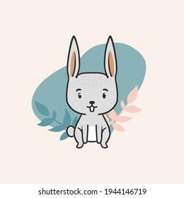 Animal forest cute illustration design