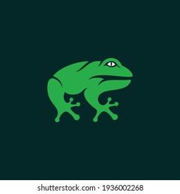 Animal Frog Creative Logo Design