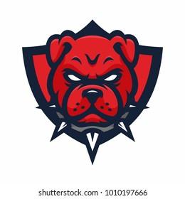 pitbull logo images stock photos vectors shutterstock rh shutterstock com pitbull logo designs pit bull logos